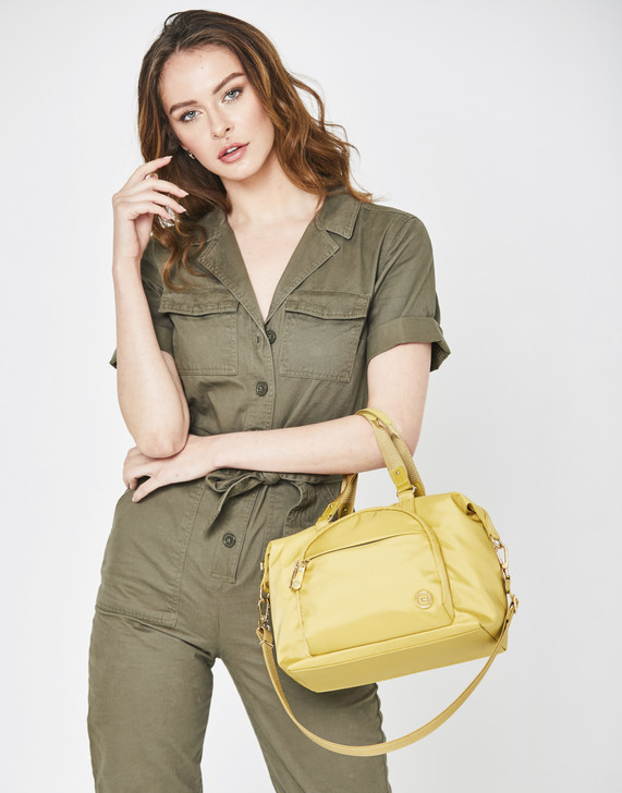 Satchel - Carmel Satchel Close Model Yellow Sun