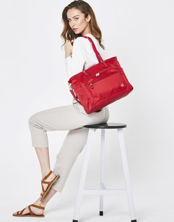Tote - Doran Tote Model Premium Red