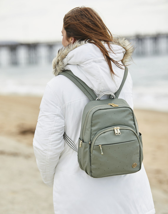 Backpack - Channel Backpack Model Galaxy Green