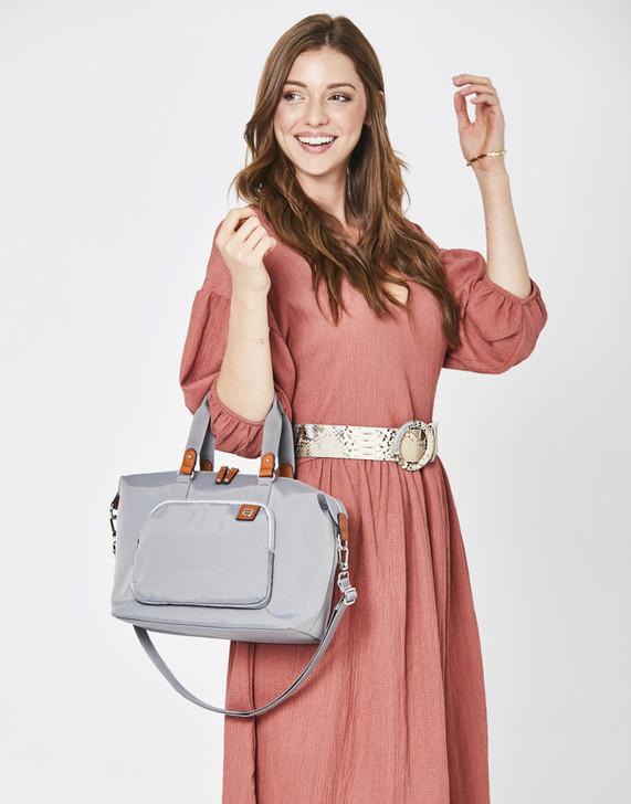 Satchel - Avon Satchel Model Platinum Grey