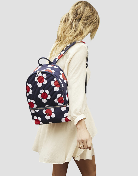 Backpack - Scarlet Backpack Model Navy Daisy