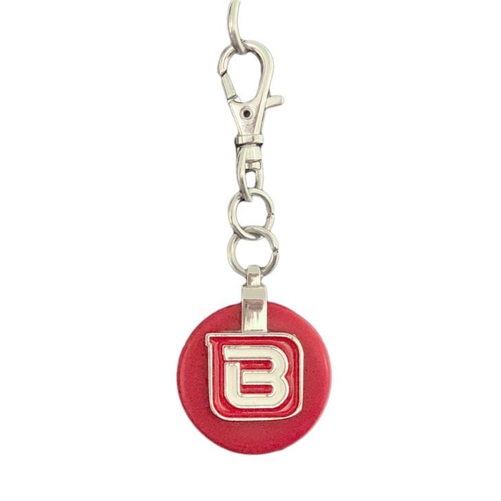 beside-u circle dangle red front