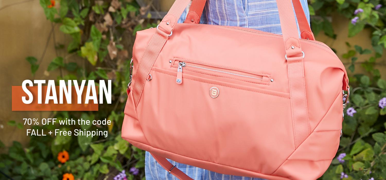 beside-u BNUA139-564 Stanyan Proud Orange duffel purses fashion handbags designer bags banner 1500x700