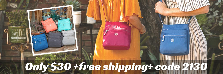 beside-u $30 BNUA140-2G1 BNUA140-3A8 Kobbe Cool Magenta Seashore Blue crossbody purses fashion handbags designer bags banner