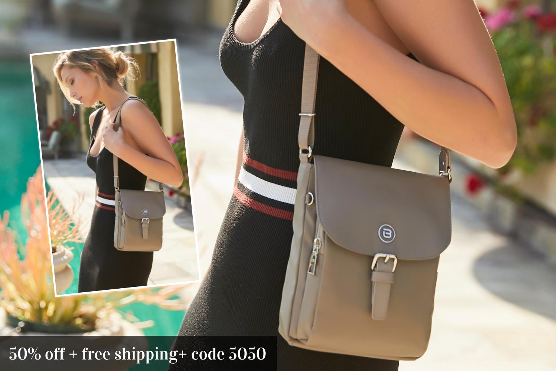beside-u 50% off BNUA159-672 Natoma Cinder Gray crossbody purses fashion handbags designer bags banner