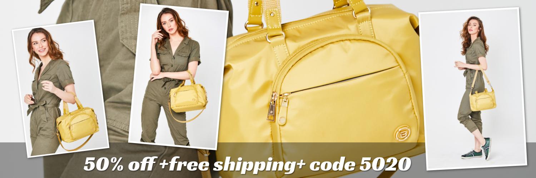 beside-u 50 off BNUA2012-579 Carmel Yellow Sun satchel purses fashion handbags designer bags banner