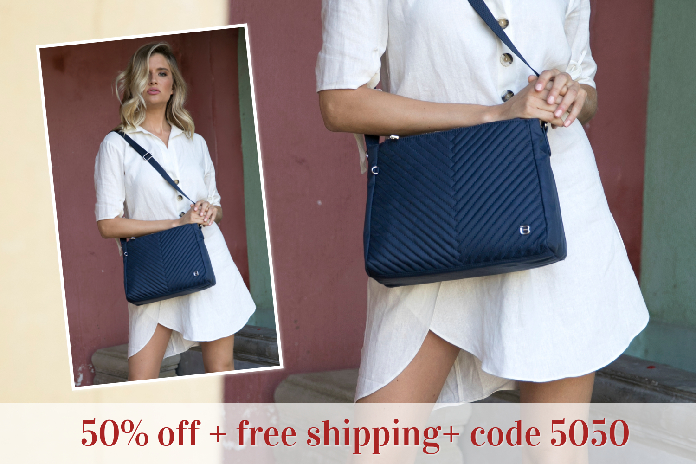 beside-u 50% off BNUO033-3C8 Tomey Moonlight Blue crossbody purses fashion handbags designer bags banner