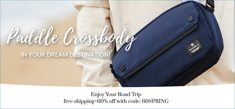 beside-u BAPM2004-3F6 Paddle Rich Blue crossbody purses fashion handbags designer bags spring banner
