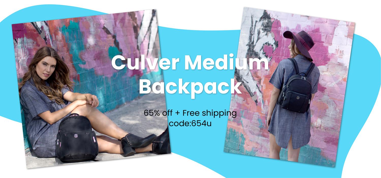beside-u BLL004-157 Culver City Black backpack purses fashion handbags designer bags banner 1500x700