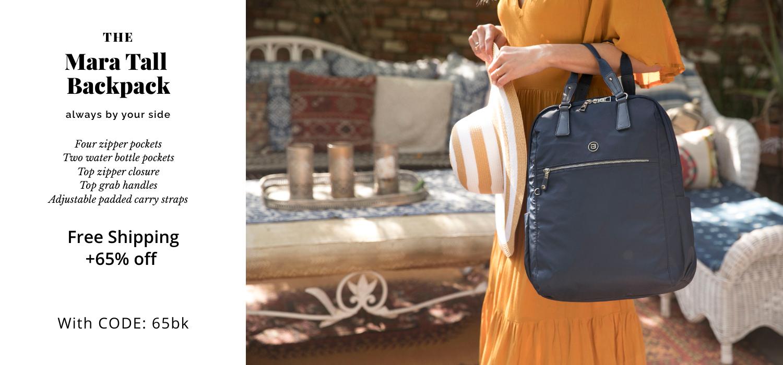 beside-u BNUA1911-3D2 Mara Mood Blue backpack purses fashion handbags designer bags june banner