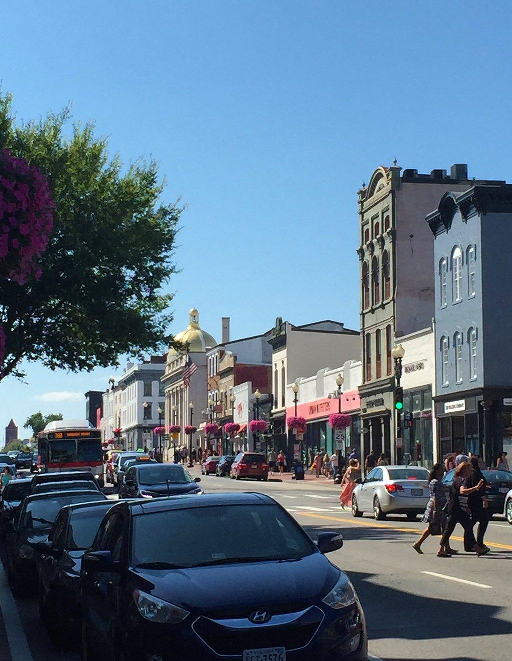 Georgetown Downtown Boutique Shops Restaurants