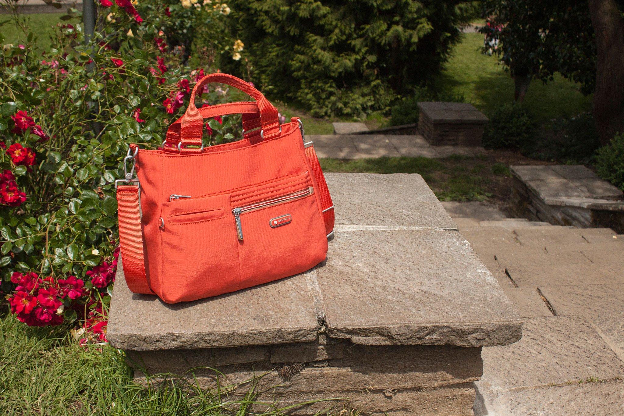 Beside-U Forever Young Brussels Satchel Bag Sweet Orange Your Story Portland