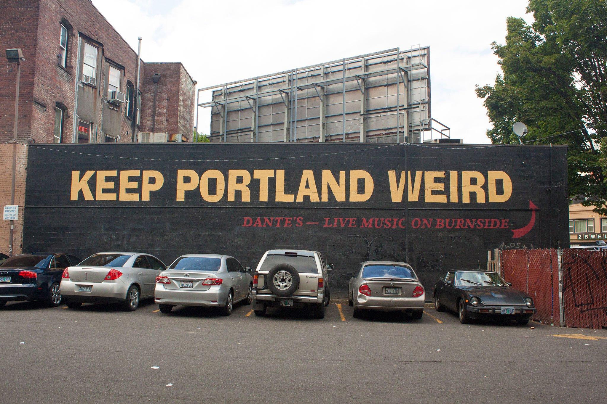 Keep Portland Weird Mural Your Story Portland