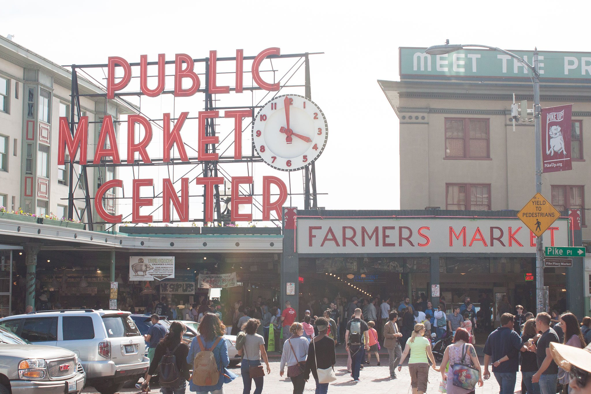 Pike Place Market Your Story Seattle Washington Beside-U purses wholesale fashion handbags authentic cheap designer bags