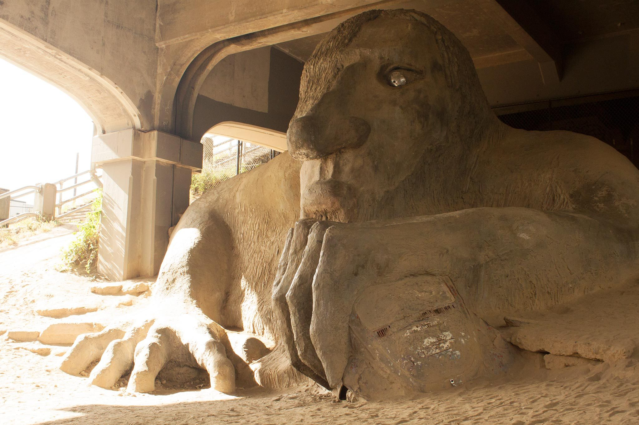 Fremont Troll Your Story Seattle Washington Beside-U purses wholesale fashion handbags authentic cheap designer bags