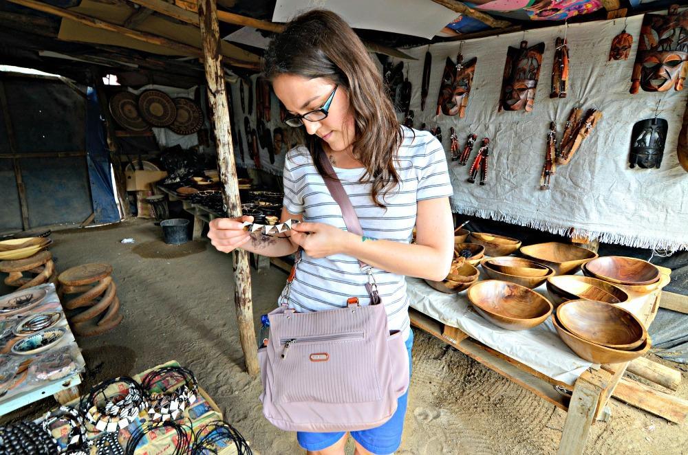 Handicraft Market Namibia Bethany Satchel Bag