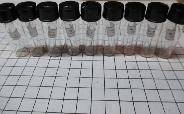 Complete Gas Element Sample Set