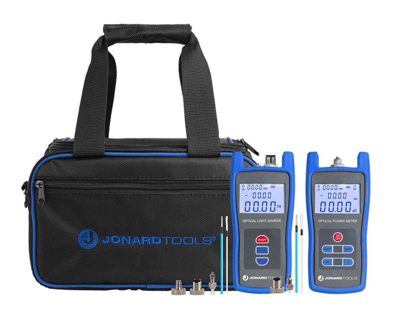 Jonard Fiber Power Meter & Singlemode Optical Light Source Test Kit - FPL-5050