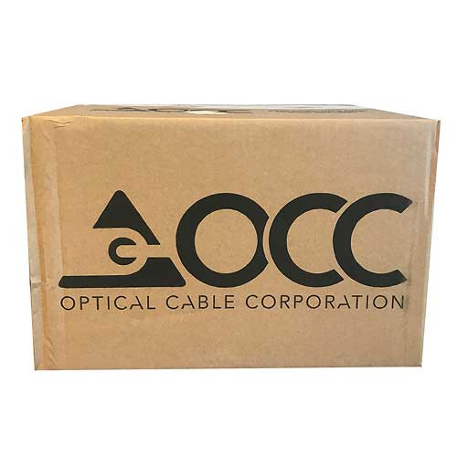 OCC Multimode 50um OM4 Indoor/Outdoor Cable Plenum - Aqua - Bulk