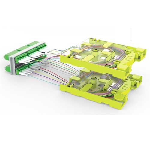 Wirewerks 12F Mini Splice Tray - MST-12B