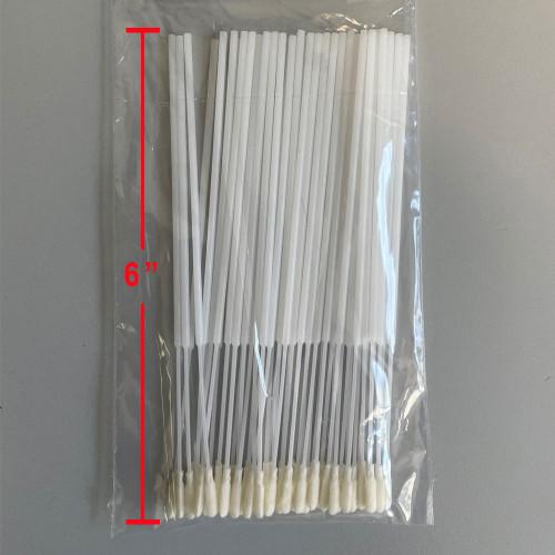2.5mm Mini Foam Tip Swab - 50 Pack