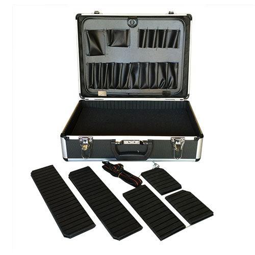 """Aluminum Tool Case - 18""""x13""""x6"""" - Black"""
