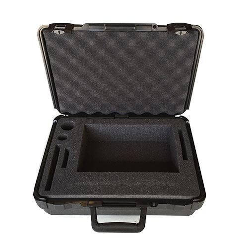 "Polyethylene Foam Padded Carry Case - 14""x10""x4"" - Black"