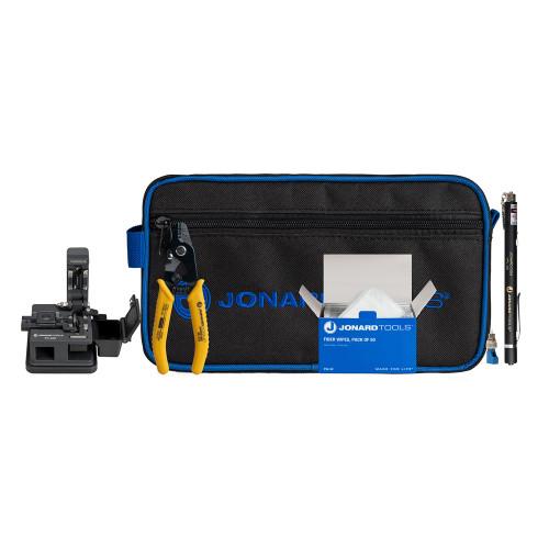 Jonard Fiber Optic Connector Clean and Prep Kit - TK-184