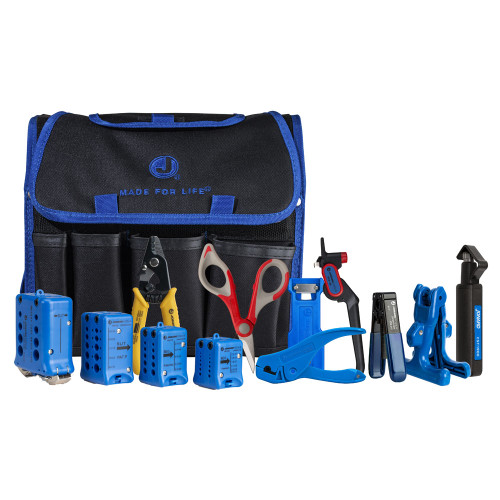 Jonard Fiber Optic Mid Span Slit & Ring Tool Kit+ - TK-106