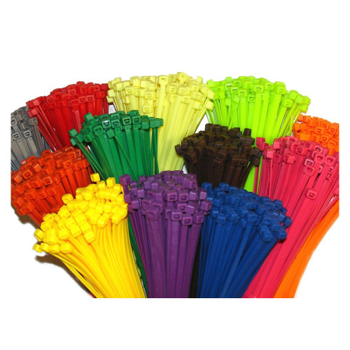 """Cable Tie Wraps - 4"""" / 8"""" - 100 Pack"""