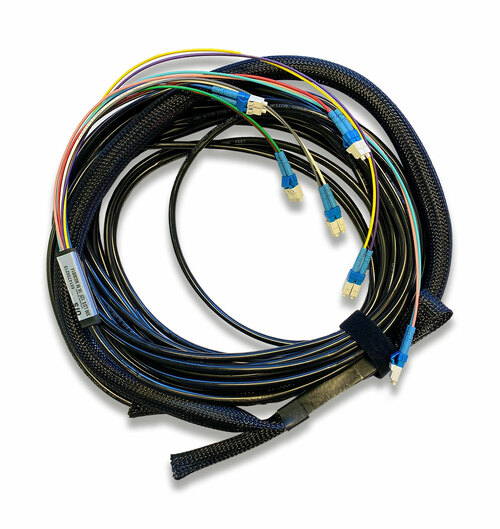 12 Fiber LC-LC Singlemode Indoor / Outdoor Patch Cable 16M *Clearance*