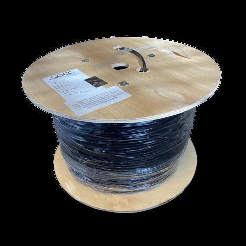 OCC Singlemode Indoor/Outdoor Cable Plenum - Black - Bulk