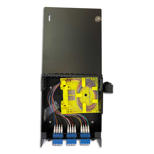 Wirewerks Loaded 1 Slot Wall Mount 24F LC/UPC - WE-005104
