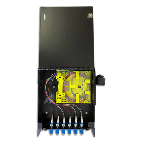 Wirewerks Loaded 1 Slot Wall Mount 12F LC/UPC - WE-004628