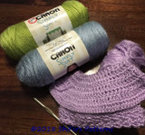 First Yarn Review- Caron Simply Soft