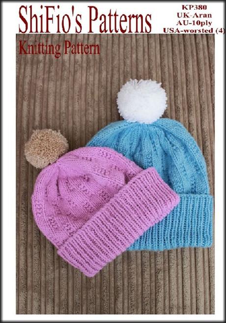 Knitting Pattern #382