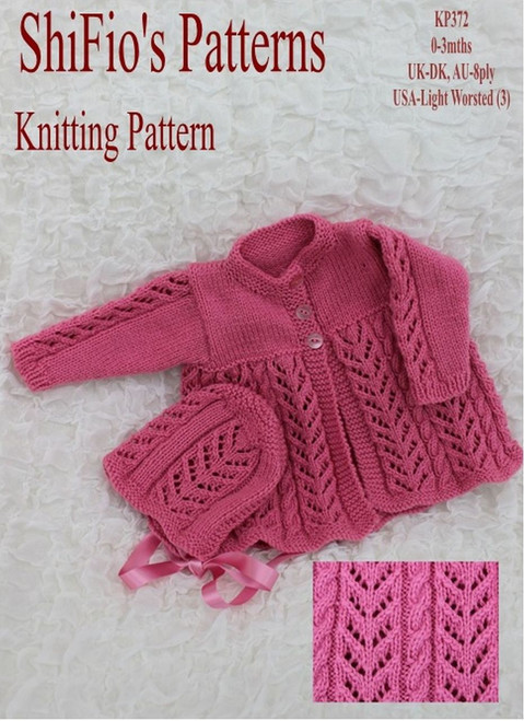 Knitting Pattern #372