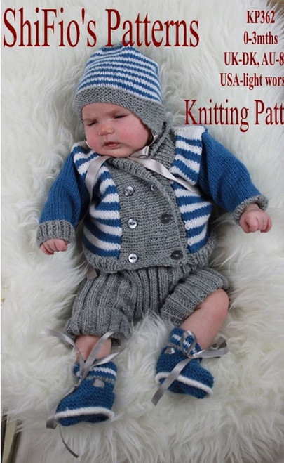 Knitting Pattern #362