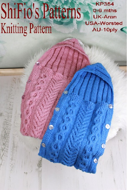 Knitting Pattern #354