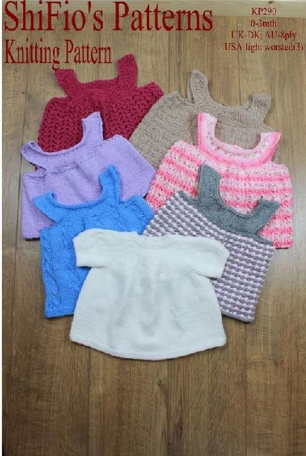 Knitting Pattern #290