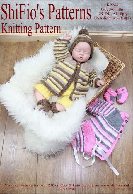 Knitting Pattern #288