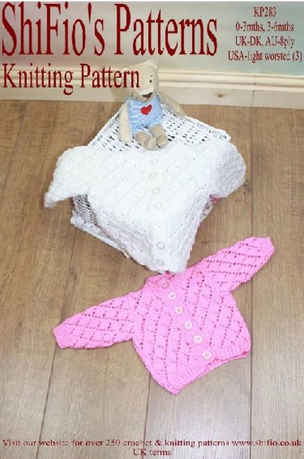 Knitting Pattern #283