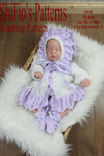 Knitting Pattern #195