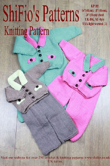 Knitting Pattern #185