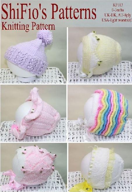 Knitting Pattern #113