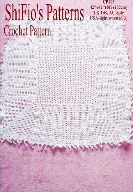 Crochet Pattern #106
