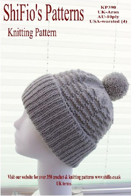 Knitting Pattern #390