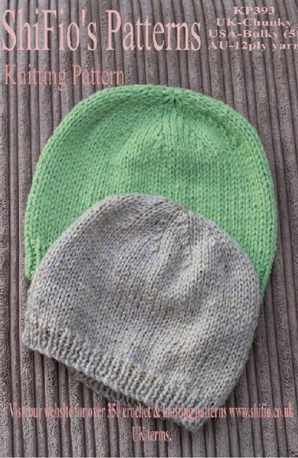 Knitting Pattern #393