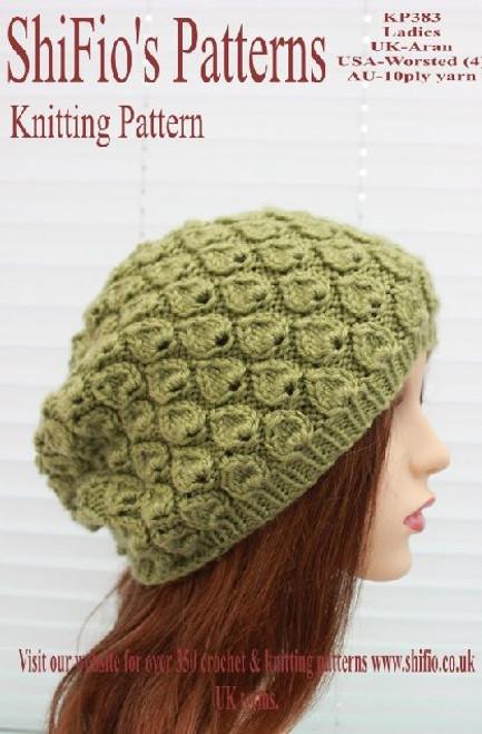 Knitting Pattern #383