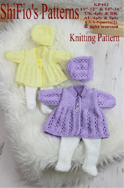 Knitting Pattern #402